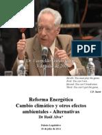 Reforma Energética Cambio climático y otros efectos ambientales - Alternativas
