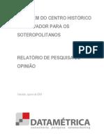 A Imagem Do CHS Para Os Soteropolitanos