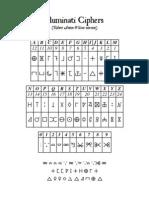 Illuminati Ciphers (RAW version)
