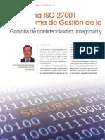 La Norma ISO 27001 Del Sistema de Gestión de La Seguridad de Información.2012