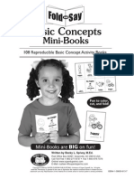 Basic Concepts Mini Books (PreK-K)