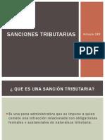 Sanciones tributarias diapositivas