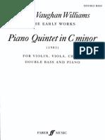Vaughan Williams Piano Quintet - Bass