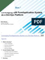 DevOps on PureApp ForISV