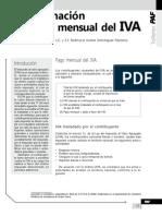 Determinación Del Pago Mensual Del IVA