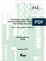 CIGRE Report(Working Group A3.06)