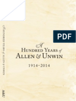 A Hundred Years of Allen & Unwin 1914-2014