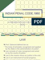 INDIAN PENAL CODE,1860