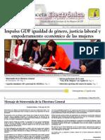 Gaceta Electrónica #1 -InMUJERESDF