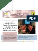 Gaceta Electrónica #4 -InMUJERESDF