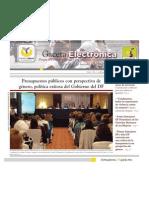 Gaceta Electrónica #7 -InMUJERESDF