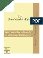 PP3, Principios sobre la Verdad y el Misterio de los Números