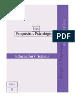 PP10, Educación Cristiana