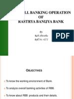 Rastriya Banjya Bank - Intern Slide