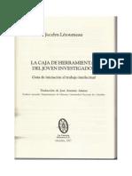 La Caja de Herramientas Del Joven Investigador Cap1 Letourneau