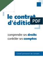 contrats editions
