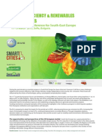 EE & RE, Smart Cities - Exhibition & Conference for South-East Europe, 11 - 13 March 2015 , Sofia, Bulgaria