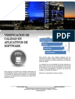 Verificacion de Calidad en Aplicativos de Software