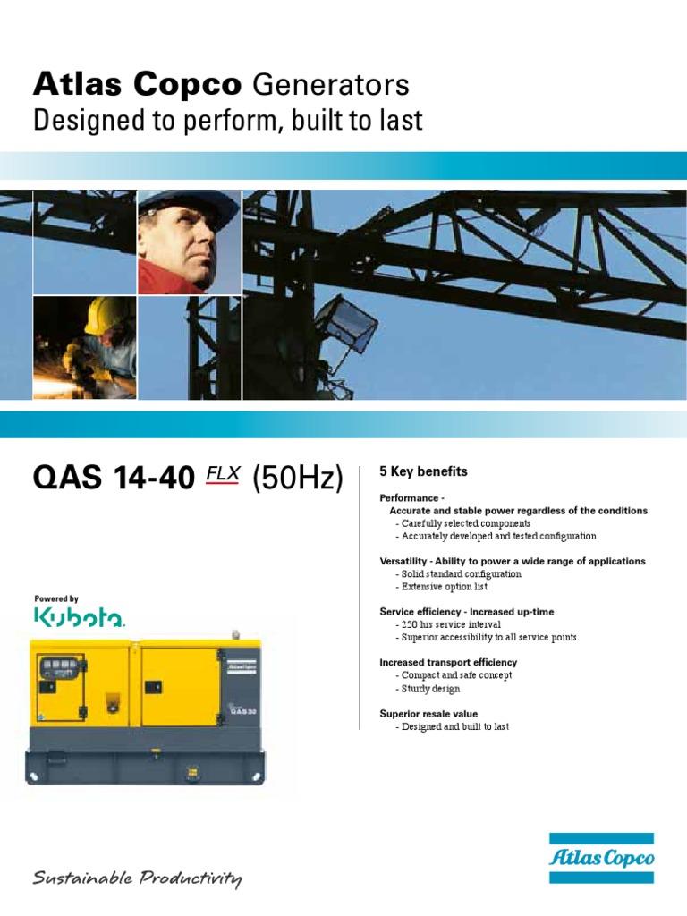 Atlas Copco Qas 14 Agregat Za Struju Trailer Vehicle Quality Alternator Wiring Diagram Assurance