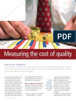 Measuring the Cost of Quality