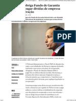 Tribunal Obriga Fundo de Garantia Salarial a Pagar Dívidas de Empresa Em Recuperação - PÚBLICO