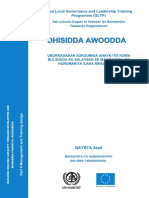 Building NGO/CBO Capacity through Developing and Managing Financial Resources - Part 2 (Somali)