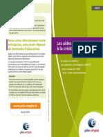Aides Financieres Creation Entreprise 522 Avril 20432
