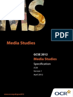 GCSE Media Specification
