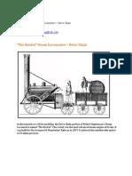 The Rockets Team Locomotive Drive Chain
