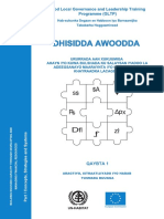 Building NGO/CBO Capacity through Developing and Managing Financial Resources - Part 1 (Somali)