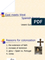 East meets West/ Spanish Period
