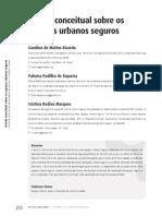 Estudo Conceitual Sobre Os Espaços Urbanos Seguros