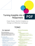 Turning insights into effective interventions
