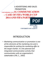 fifa world cup 2014 marketing commuication