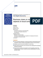 ICC Cloud Policy Statement