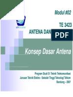TE3423 2 Konsep Dasar Antena