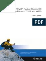 TEMS Pocket 6.3 C702 Users Manual