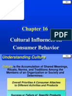 Culture and CB