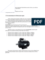Documentatia de Fabricatie Reper angrenaj motor electric
