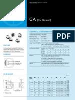E-Cap SurfaceMount CA 2011