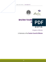 Bhutan Tourism Monitor Annual Report 2012