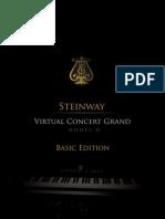 Garritan Authorized Steinway Virtual Concert Grand Manual - Basic Edition
