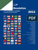 Dispute Resolution in Malaysia 2012