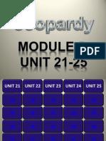 Grade 8 Jeopardy- Module 5 Elinda