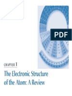 The Electronic Structure of the Atom