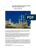 Risk Mitigation in Refineries and Chemical Plants - White Paper