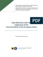 Boehm Cole - Data Retention Study - June 2014
