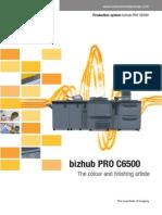 Copier Bizhub C6500 sarvice manual