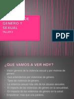 Violencia de Género y Sexual Taller 2