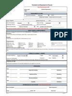 MODELO - Formulário de Requisição de Pessoal - Estagiário INFRA